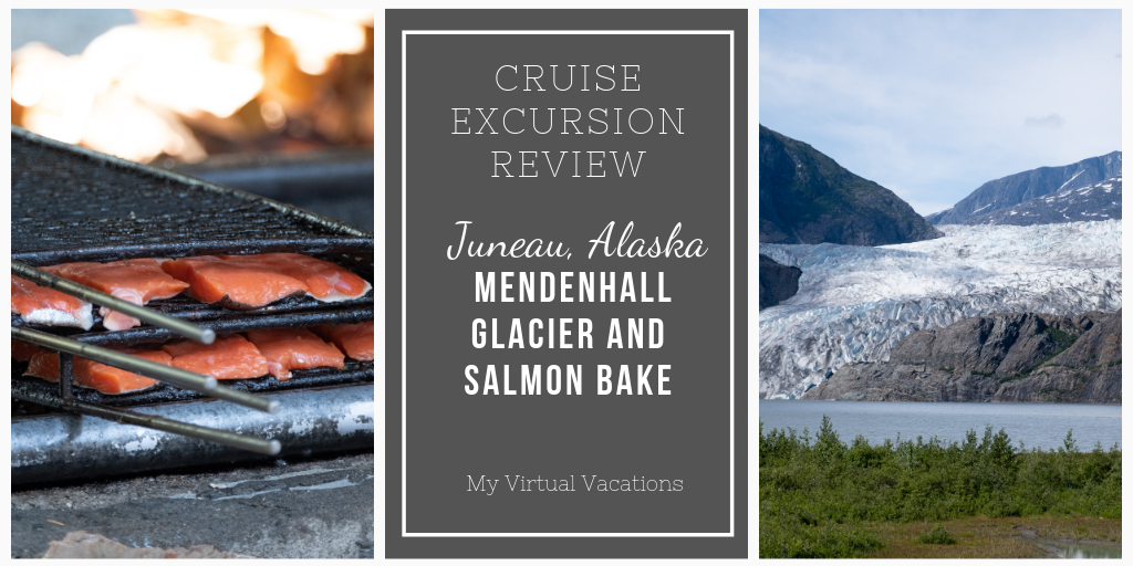 Juneau Excursion with Mendenhall Glacier and Cold Creek Salmon Bake