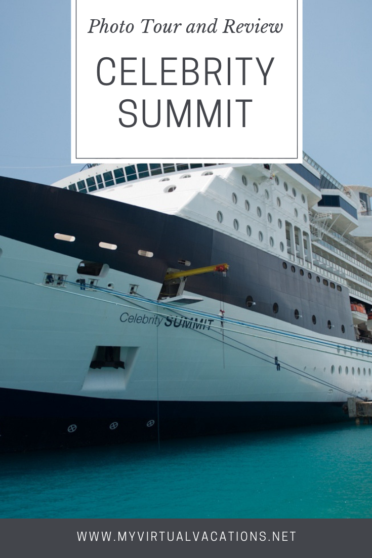 Review of Celebrity Cruises Celebrity Summit Cabins, Dining, and Entertainment