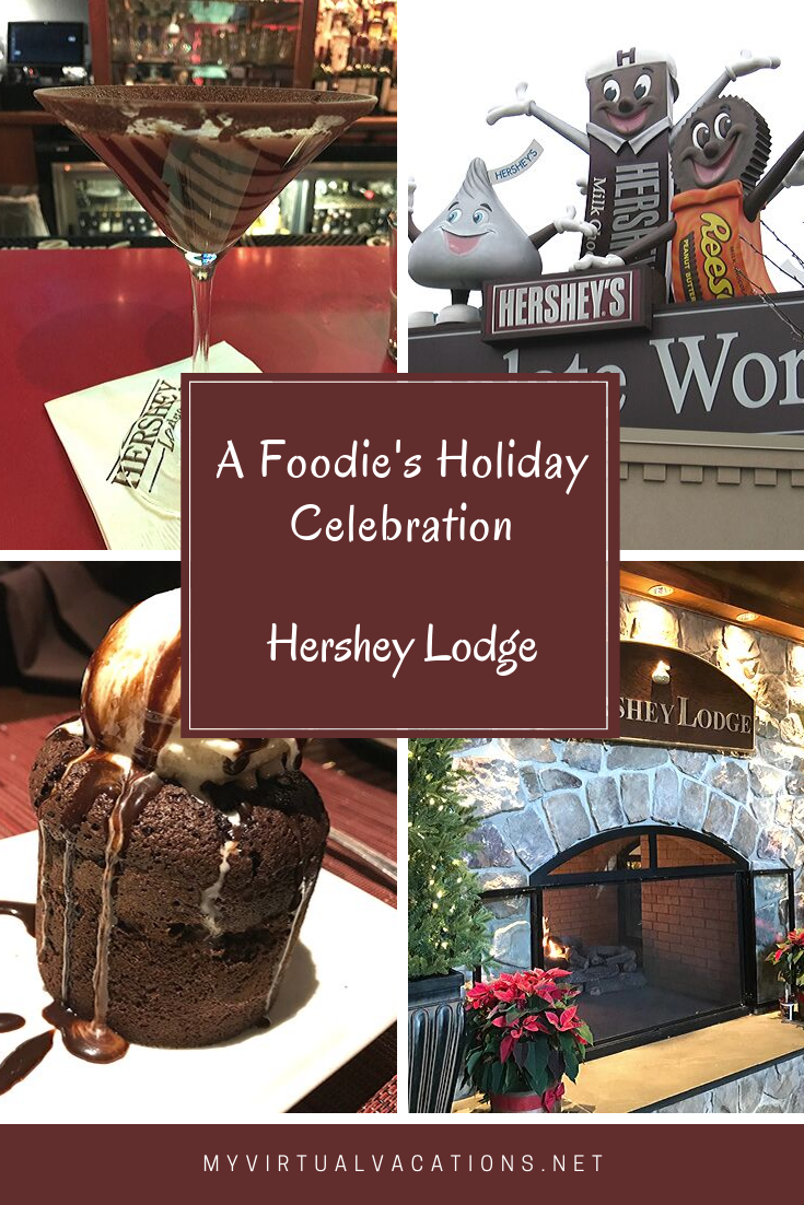 Take the family to Hershey Lodge for the amazing food and luxury chocolate experiences during the holidays! Even the foodies in your group will be impressed with the culinary treats centered around chocolate.