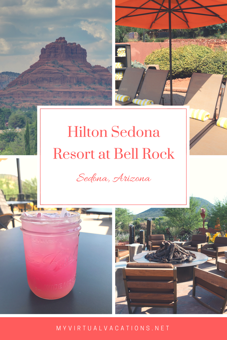 Hilton Sedona Resort at Bell Rock is My Virtual Vacations top pick for a luxury stay in Sedona, Arizona.