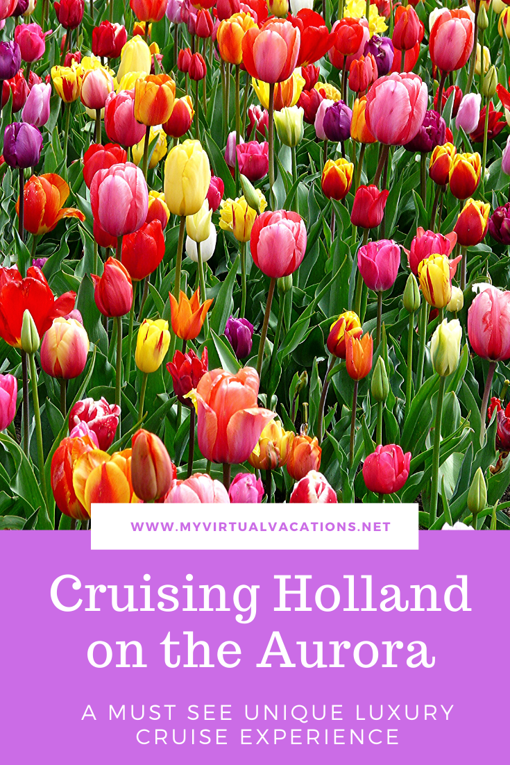 The Aurora, a luxury barge ship, is spectacular as it cruises on a river through Holland in style. Take a peek inside and see all it offers - fabulous itinerary, suites, and dining.