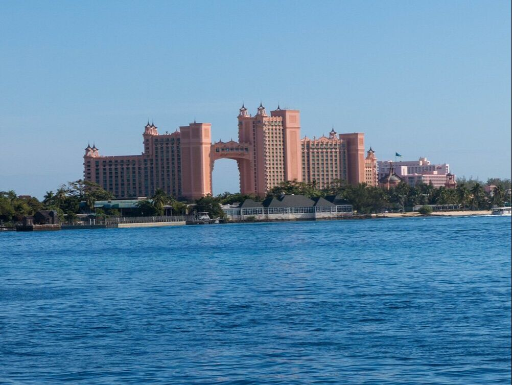 The infamous view of Atlantis.