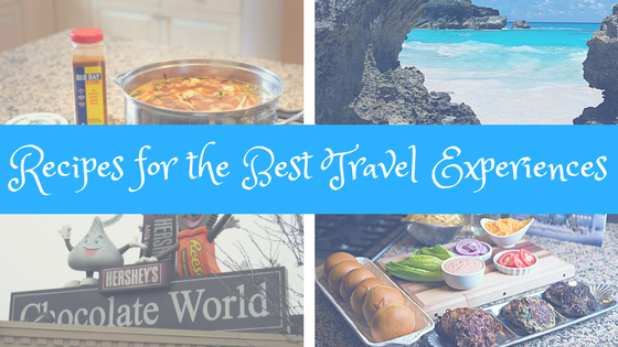Recipes from Maryland, Pennsylvania, Bermuda and Celebrity Cruises from My Virtual Vacations